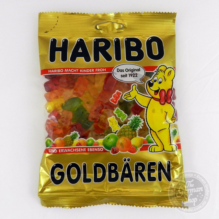 Haribo Pico-Balla / fruit gum (175g) - TGSDU - The German