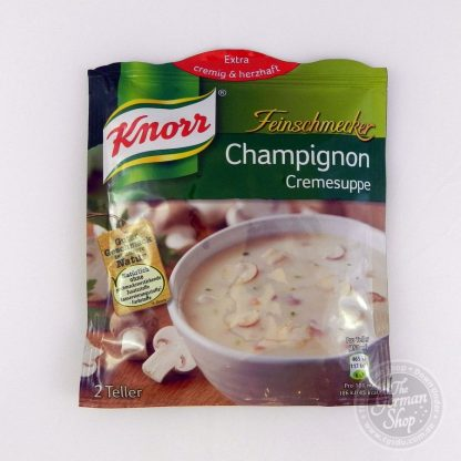 Knorr-Feinschmecker-champignon-cremesuppe