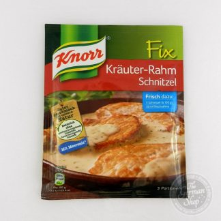 Knorr-Fix-krauter-rahm-schmitzel
