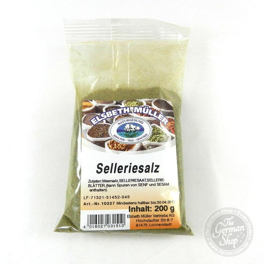 Selleriesalz Celery Salt 200g Tgsdu The German Shop Down Under