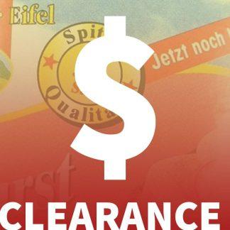 Zu guter letzt .. Stock Clearance!
