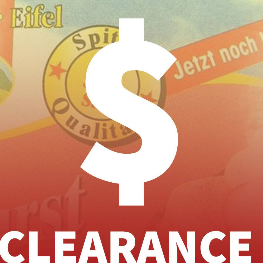 Zum Sonderangebot .. Specials and Clearance!