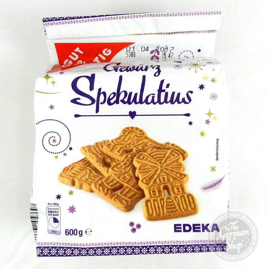 Edeka Gewuerz Spekulatius Spicy Ginger Bread 600g