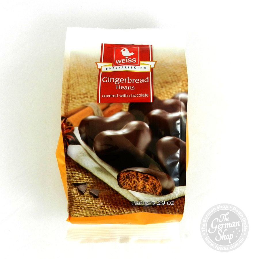 Chocolate Covered Gingerbread Cookies German