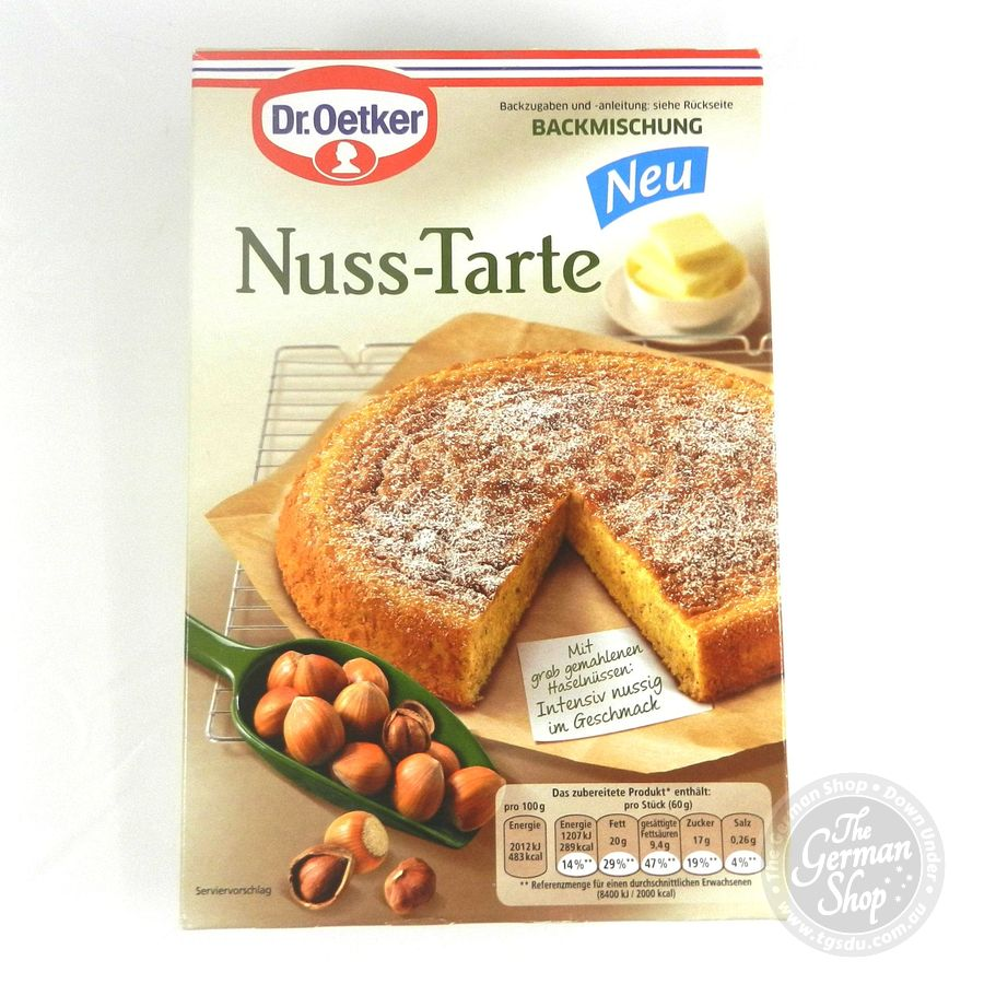 Dr Oetker Nuss Tarte Nut Tarte Baking Mix Tgsdu The German Shop Down Under