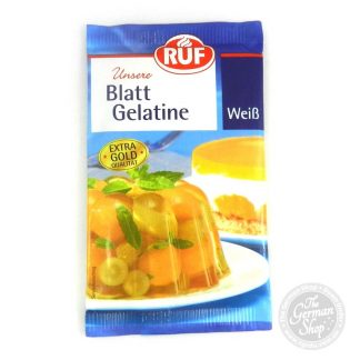 Ruf-blatt-gelatine-weiss